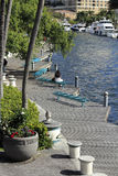 Riverwalk-Fort Lauderdale Stockbilder