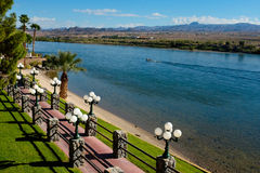 Riverwalk in Laughlin - Bullhead City Stock Photo