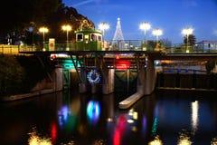 RiverWalk Lock Royalty Free Stock Photos