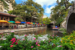 Riverwalk San Antonio Images libres de droits