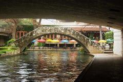 riverwalk san antonio Стоковое Изображение