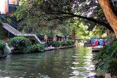 Riverwalk - San Antonio, le Texas Images stock