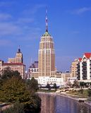 Riverwalk, San Antonio, Texas. stockbilder