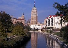 Riverwalk, San Antonio, Texas. Lizenzfreies Stockbild