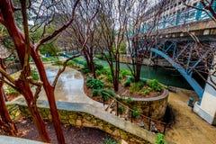 The Riverwalk at San Antonio, Texas. Stock Photography