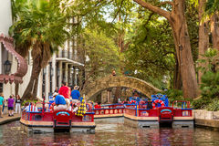 Riverwalk San Antonio Royalty Free Stock Photos