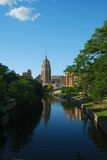 RiverWalk South View Royalty Free Stock Image