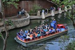 Riverwalk Tour Boat royalty free stock photo