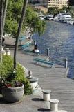Riverwalkfort lauderdale Stock Afbeeldingen