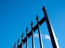 Rivesta di ferro il cancello Immagine Stock Libera da Diritti
