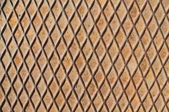 Rivesta di ferro il fondo, la struttura arrugginita, superficie incrinata Fotografia Stock Libera da Diritti