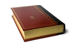 Rivesta di pelle il libro rilegato Fotografia Stock Libera da Diritti