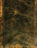 Rivesta di pelle la copertina di libro Fotografia Stock