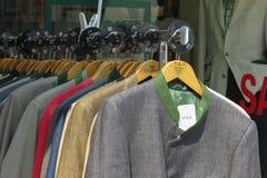 Rivestimenti del vestito degli uomini Immagine Stock Libera da Diritti