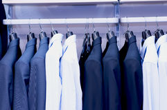 Rivestimenti del vestito degli uomini Fotografia Stock Libera da Diritti