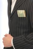 Rivestimento dai dollari della casella Immagini Stock Libere da Diritti