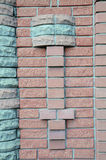 Rivestimento decorativo del muro di mattoni Fotografia Stock