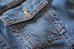 Rivestimento dei jeans Immagini Stock