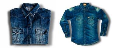 Rivestimento dei jeans Fotografia Stock