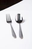 Rivestimento dell'acciaio inossidabile del cucchiaio Fotografia Stock Libera da Diritti