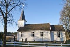 (Rivestimento della chiesa dell'isola di Uller) ad ovest. Fotografie Stock Libere da Diritti