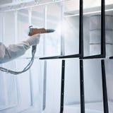Rivestimento della polvere Fotografie Stock Libere da Diritti