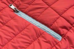 Rivestimento rosso Fotografie Stock Libere da Diritti