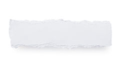 rivet banerpapper Royaltyfri Fotografi