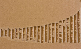 rivet brädeaskkort Arkivbild