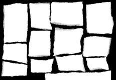 rivet format papper Arkivfoto