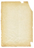 rivet gammalt papper Royaltyfri Bild