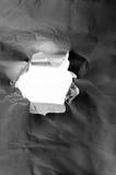 rivet hål arkivbilder