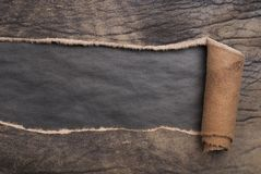 rivet läder arkivbilder