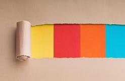 rivet paper avstånd för meddelande Royaltyfri Fotografi