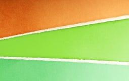 rivet paper avstånd för meddelande Arkivbild