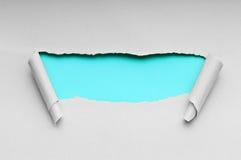 rivet paper avstånd för meddelande Arkivbilder