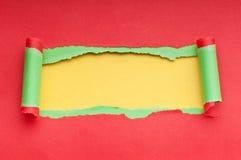 rivet paper avstånd för meddelande Royaltyfria Bilder