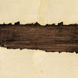 rivet papper arkivbilder