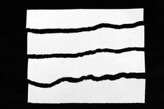 rivet papper Arkivfoto