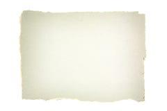 rivet papper royaltyfri bild