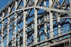 Riveted  bridge Royalty Free Stock Images