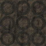 Riveted circles grunge background. Nine circles Royalty Free Stock Photo