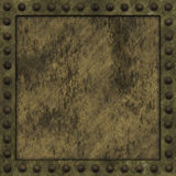 Riveted grunge background. Stock Photos