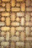 Riveted, Metal Plated Door Stock Images