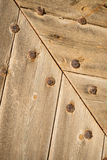 Riveted wood Royalty Free Stock Photography