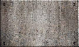 rivets för metallplatta Royaltyfria Foton