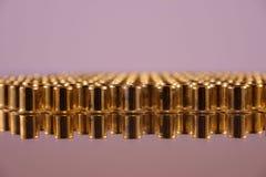 Rivets pour des vêtements de métal Photo stock