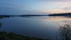 Rivière à 5h du matin Photos libres de droits