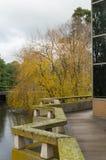 Rivière à l'université de Trobe de La Image stock