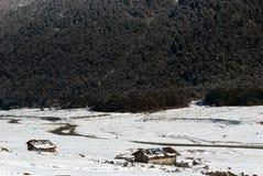 Rivière à la vallée de Yumthang image stock
